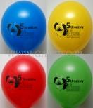 Kolorowe balony z nadrukiem dla Leroy Merlin.