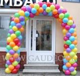 Brama balonowa w Piasecznie.