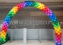 Brama balonowa w Auchan Bonarka w Krakowie.