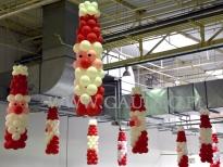 Balonowi Mikołaje.