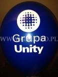 Nadruk na balonie dla Unity.