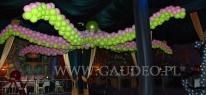 Ośmiornica balonowa na imprezie podwodny świat.