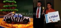 Balonowy Jeep - to praca konkursowa którą firma Gaudeo zdobyła 2 miejsce na drugich mistrzostwach Polski dekoratorów.
