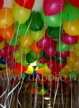 Przygotowane do rozdania balony napełnione helem.