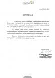 Referencje skierowane do firmy Gaudeo w związku z realizacją dekoracji balonowych.