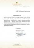 Referencje dla firmy Gaudeo Dekoracje Balonowe w związku z wykonanymi dekoracjami o d firmy eventowej.