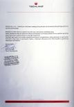 Referencje dla firmy Gaudeo Dekoracje Balonowe.