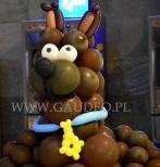 Scooby Doo z balonów.