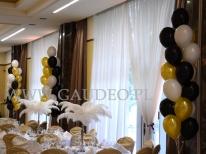 Balony helowe w stroikach na event.