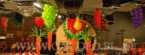 Warzywa z balonów na imprezie firmowej.