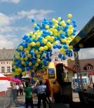 Realizacja wypuszczenia 1000 balonów z helem na pikniku.
