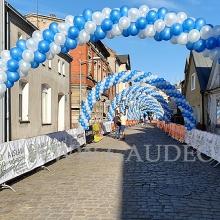 Łuki balonowe w Grodzisku Wielkopolskim.