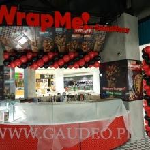 Balonowe girlandy na otwarcie WrapMe.