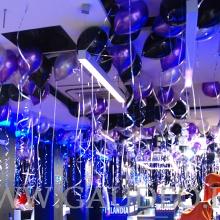 Balony helowe na Sylwestra w Kołobrzegu.
