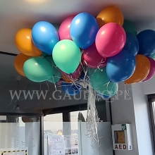Dostarczone balony helowe.