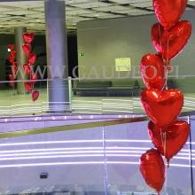Balonowa dekoracja w Sky Tower.