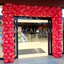 Balonowa brama na otwarcie.