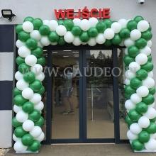 Brama z balonów koło Radzymina.
