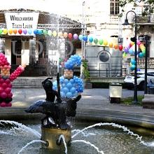 Krasnale z balonów we Wrocławiu.