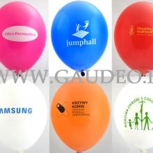 Nadruki na balonach.