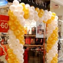 Brama z balonów dla salonu Puccini.